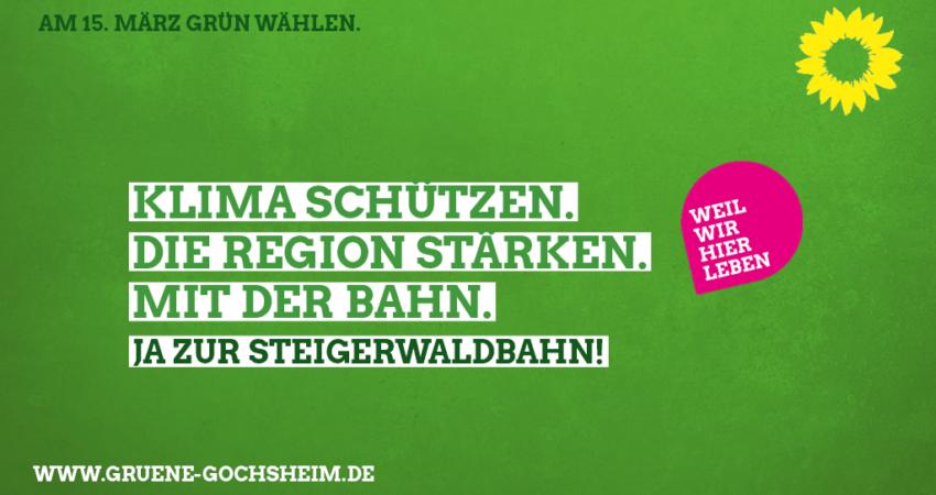Ja zur Steigerwaldbahn!
