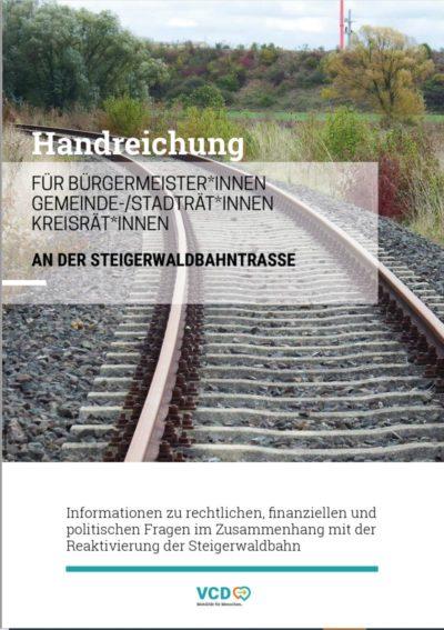 Handreichung des VCD zur Steigerwaldbahn (PDF)