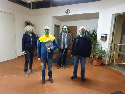 Übergabe des Bürgerantrags in Gochsheim